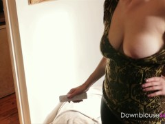 Hot Sexy Bird Plays Flappy Tits with Nip Slips ahoy - Short Trailer