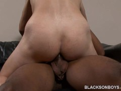 Austin Dallas Gets His Ass Drilled By A Black Guy