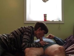 skinny wife riding and creampie quicky