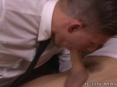 IconMale Sargent Off Duty Fucks Obedient Soldier Boy
