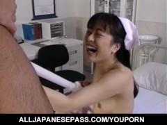 Eri Ueno nurse has nooky nailed by doctor