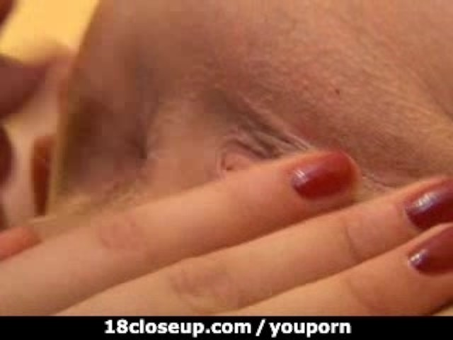 18yo slides her tongue into 3 inch wide gaping asshole 1