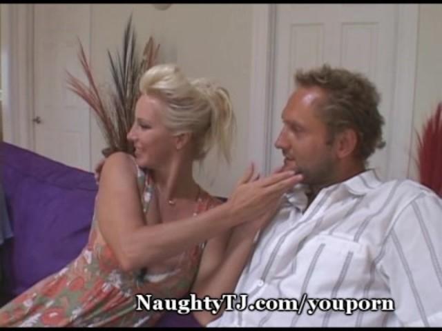 Three girls strip spank man