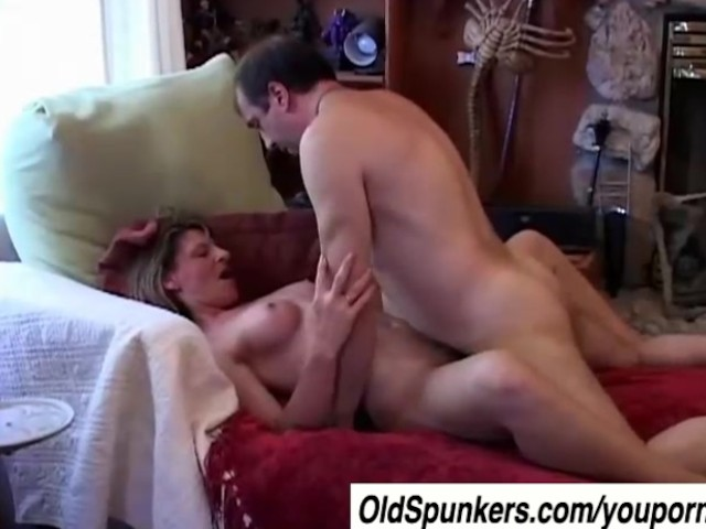 Afternoon delight busty milf sucks cock and gets fucked 9