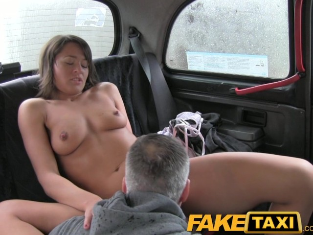 Female fake taxi drivers dildo results in squirting lesbian - 3 part 3