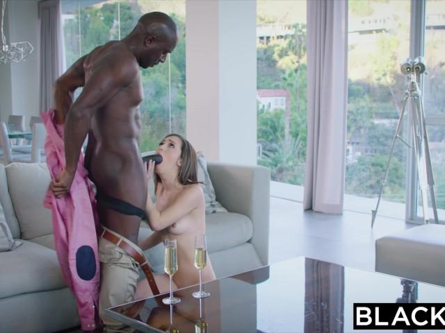 Blacked intern begins a hot arrangement with a sugar daddy 7