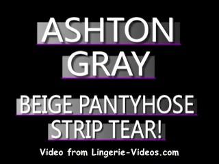 Amateur pantyhose ripping