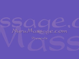 Slippery lesbo massage...