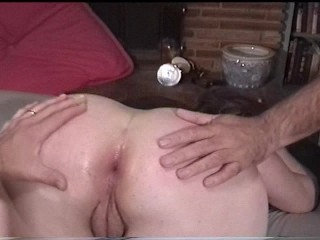 Slutty gal gets fucked in 3 different holes
