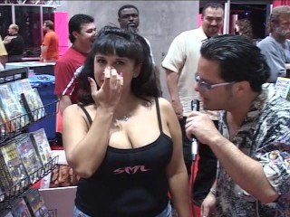 Sexy gals audition at sex show...