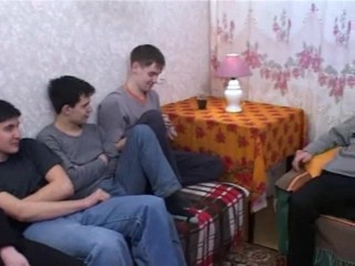 Russian mature has fun with the...