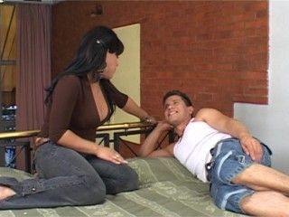 Guy by big shemale dick latin hot...