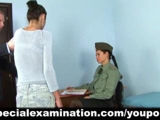 Military medical examination...