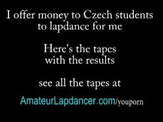 Wild Czech Blonde Does Strip And Hot Lapdance...