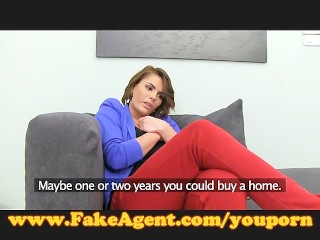 fakeagent-posh-amateur-tries-anal-in-casting