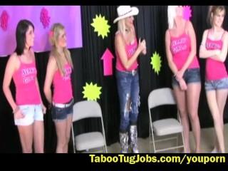 Jerk Off Contest Barbie vs Amanda