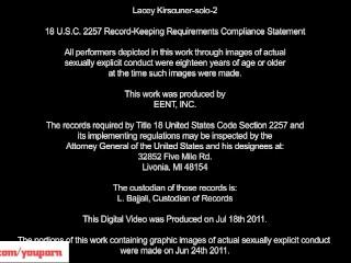 Lacey Kirscuner Masturbating...