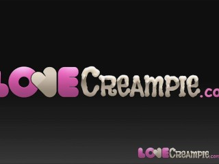 Love creampie cute has cum dripping...