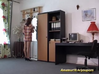 Sexy home contortion fuck...