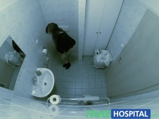 Fake Hospital Sexual Treatment Turns Gorgeous Busty Patient Moans Of Pain Into Pleasure...