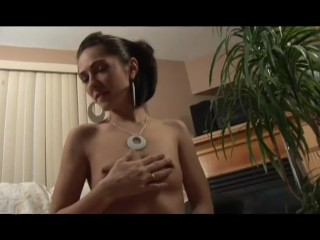 Brunette sucking and stroking the cum out - Hells Ground Productions
