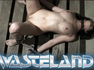 Tied up in rope and made to orgasm...