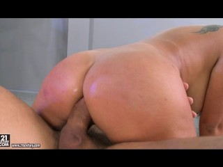 big-tit-hot-nurse-gets-asshole-check-with-two-doctors-slongs-in-her-mouth