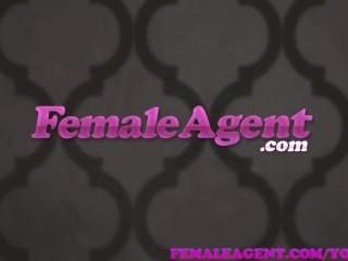 Femaleagent selfish stud upsets agent with