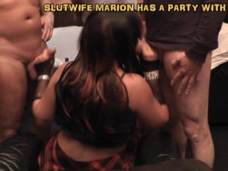 Wife gangbanged by over 30 ...