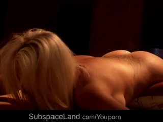 Blonde submmisive bdsm penetration