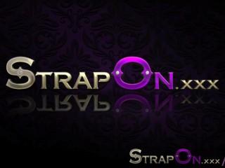 Strapon romantic double penetration...