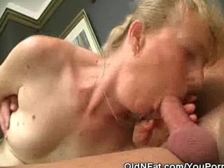 Chubby granny and her gets fucked...