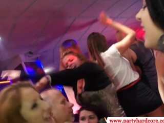 Real party euro amateur doggystyled in public