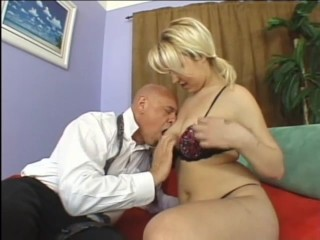 Pigtails blonde fucked naughty risque...