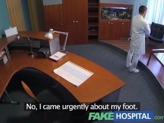 Fakehospital Petite Redheads Sexual Skills Makes Doctor Cum Twice...