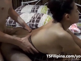 TS Filipina Shemale Loves Getting Her Ass Fucked