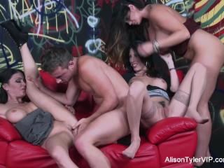 Alison tyler shares