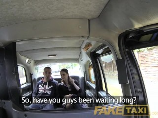 Faketaxi on in rear of cab...
