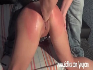 Amateur wife fisted hard till she squirts...