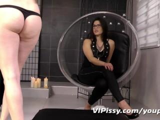 Mistress rewards her showers...