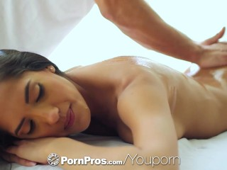 PornPros   Exotic sweetheart Chloe Amour gets massaged and fucked...