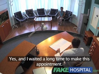 Fakehospital Patient Overhears Doctor Fucking Nurse Then Fucks Him Too...