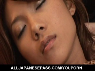 Rena kousaki gets finger fucked until a huge...