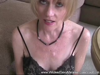 Wicked Sexy Melanie Just Loves Cock...