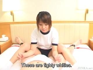 Subtitled Japaneses schoolgirl facesitting femdom...