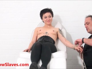 Bizarre asian medical mei maras doctor fetish play...