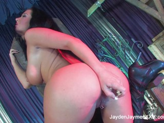 Jayden Jaymes Goes Medieval On Herself