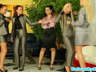 Euro assfucking groupsex with
