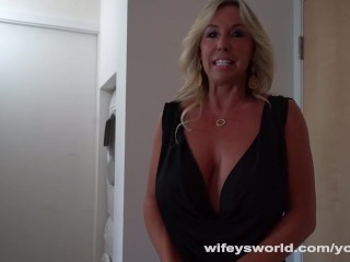 Horny Cougar Tutors Young Stud In Sex Ed...