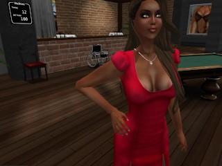 katia-en-mini-robe-moulane-rouge-collat-noire-au-sexmotel
